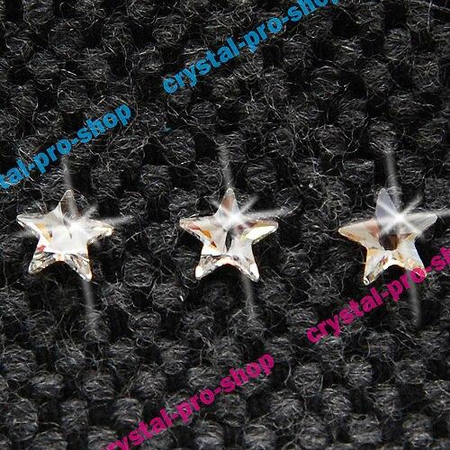 2816 GENUINE Swarovski Elements 5mm Clear ( 001 ) Rivoli Star Flat back 72  pcs Iron on Crystal Glass Craft Hotfix rhinestones-in Rhinestones from Home  ... 637236be8b88