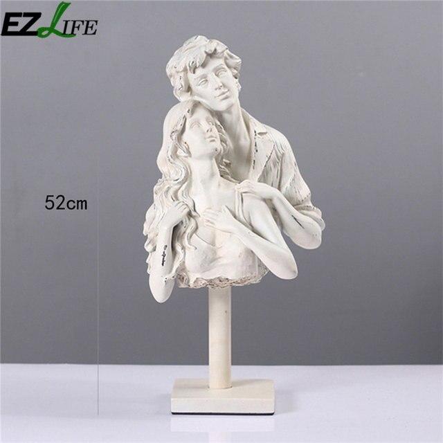 Amerikanischen Stil Harz Liebhaber Skulptur Dekoration Hochwertigen  Dekoration Skulptur Zubehör Wohnzimmer Kunst Handwerk LQW3342