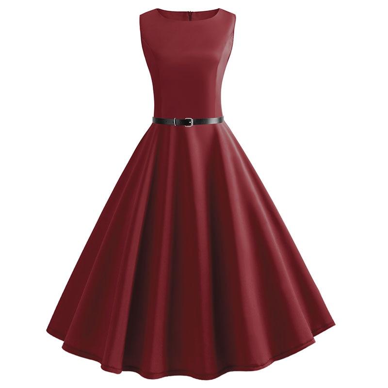 Blue Vintage Swing Dress 108