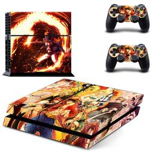 HOMEREALLY Stickers Anime One Piece Vinyl Cover Decal PS4 Skin Sticker for Sony Play Station 4 Console and Controller Skin PS4