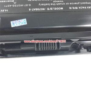 Image 5 - אמיתי W370BAT 8 (SIMPLO) 6 87 W37SS 427 W350ET סוללה עבור Clevo W370ET W350ST W350ETQ W370SK K590S K650C K750S W35XSS 370SS