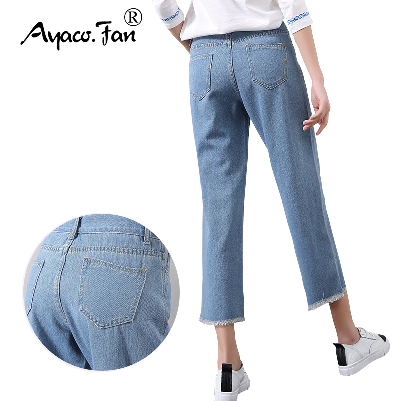 Popular Boyfriend Jean Capris-Buy Cheap Boyfriend Jean Capris lots ...
