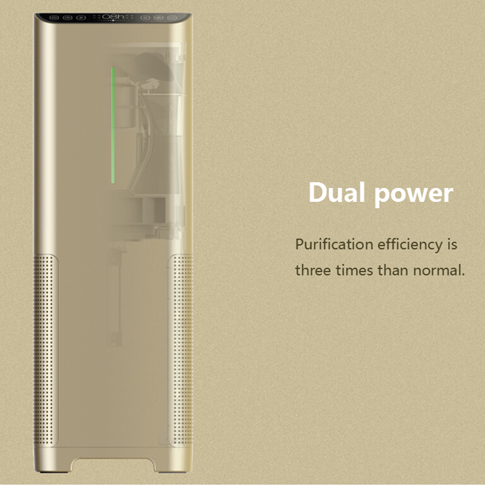 Household compact deodorization machine hepa activated carbon filter machine medical air purifier for bedroom