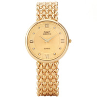 G & D GLE & VDO Casual Horloge Vrouwen Dames Quartz Relogio Feminino Armband Strass Horloges Geschenkdoos Gratis Schip