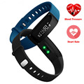 Banda inteligente teamyo v07 bluetooth heart rate monitor de presión arterial inteligente pulsera sports tracker impermeable ios para android