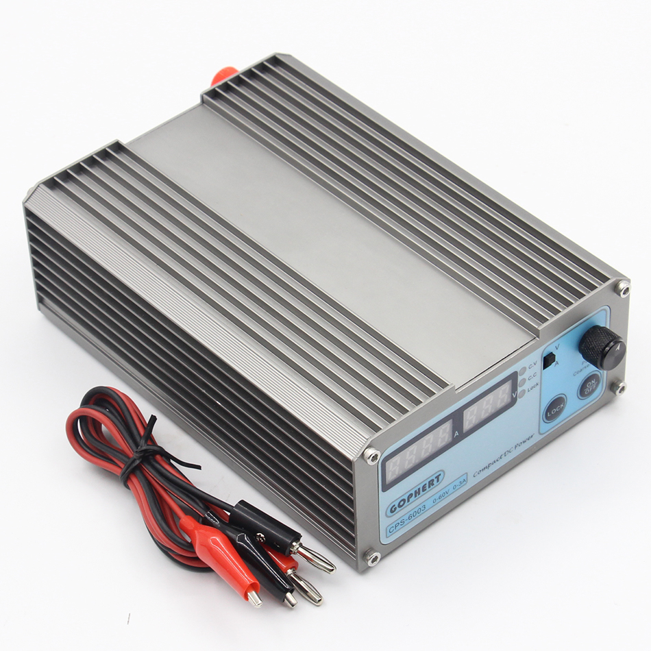 CPS6003 60V 3A 220v 0.01V/0.03A Digital Adjustable DC Power Supply Switching power supply CPS-6003 cps 6011 60v 11a precision pfc compact digital adjustable dc power supply laboratory power supply