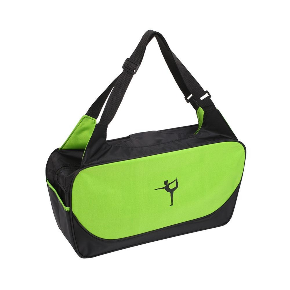 Viagdo <font><b>Yoga</b></font> Mat Bag Waterproof Backpack Shoulder Messenger Sport Bag For Women Fitness Duffel Clothes Gym Bag (No <font><b>Yoga</b></font> Mat)