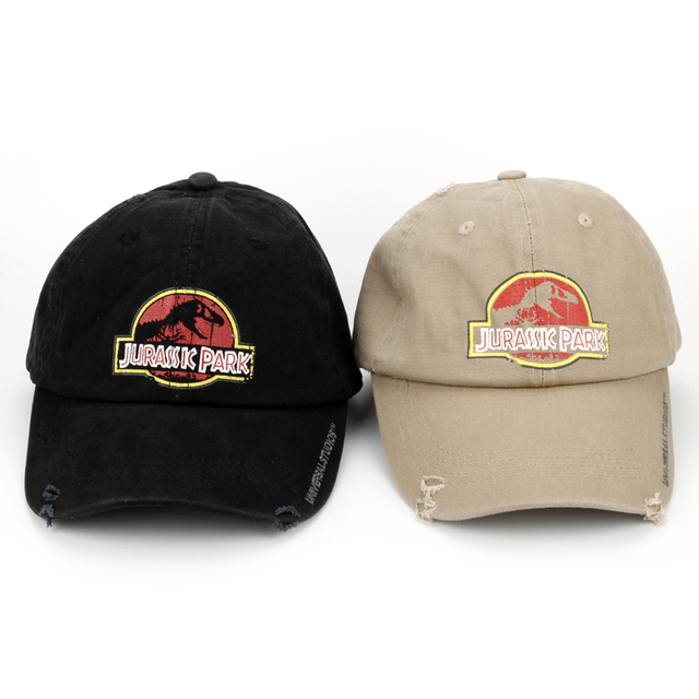 20e64ccea5a Jurassic Park Dinosaur Trucker Caps Adjustable Jurassic Park Women Men Cool  Summer Cool Mesh Baseball Caps