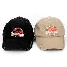 Jurassic Park Dinosaur Trucker Caps Adjustable Jurassic Park Women Men Cool Summ