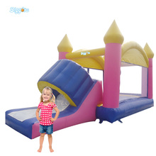 Kids Glad Inflatable Jumping Bouncer House Toys with Slide for Rental Company
