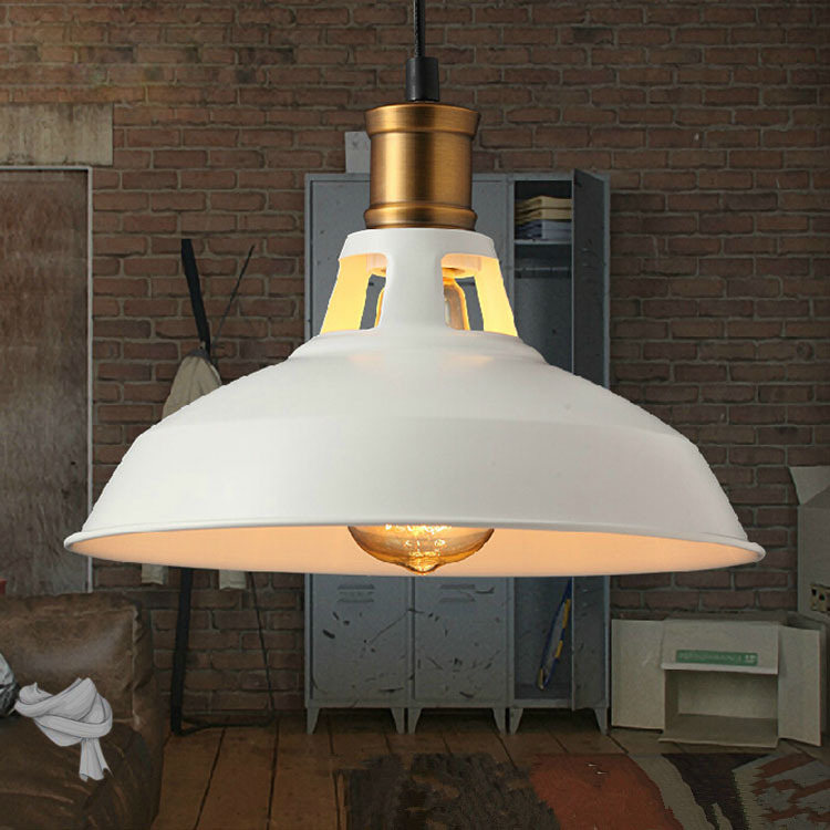 Loft Industrial Pendant Lights Vintage RH Edison Hanging Lamp E27 110 220V  Pendant Lamps For Home