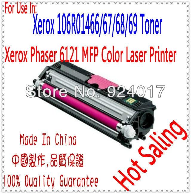 Color Toner Cartridge For Xerox Phaser 6121 6121MFP Printer For Xerox 106R01469 106R01468 106R01467 106R01466 Toner