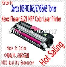 Color Toner Cartridge For Xerox Phaser 6121 6121MFP Printer,For Xerox 106R01469 106R01468 106R01467 106R01466 Toner Cartridge
