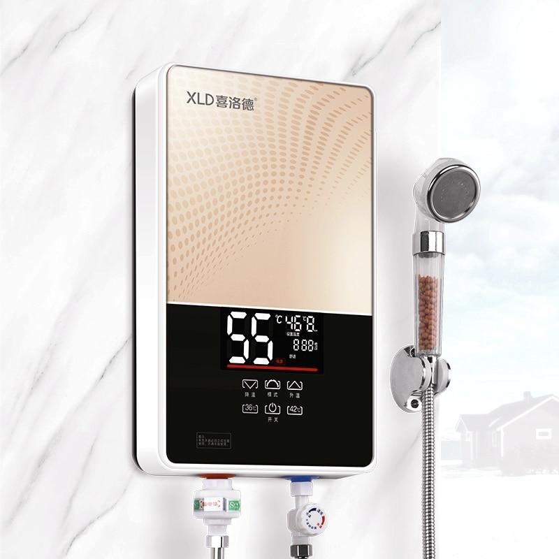 Warmwasserbereiter Haushalt Elektrische Wasser Wasserhahn Schnelle Heizung Elektrische Wasserhahn Digital Display Wasser Heizung Für Küche Ckr-88ax
