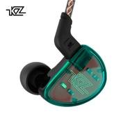 KZ AS10 Cyan 5BA Balanced Armature Driver HIFI Bass In Earphones Monitor Headset Noise Cancelling Earbuds Headphones Bluetooth