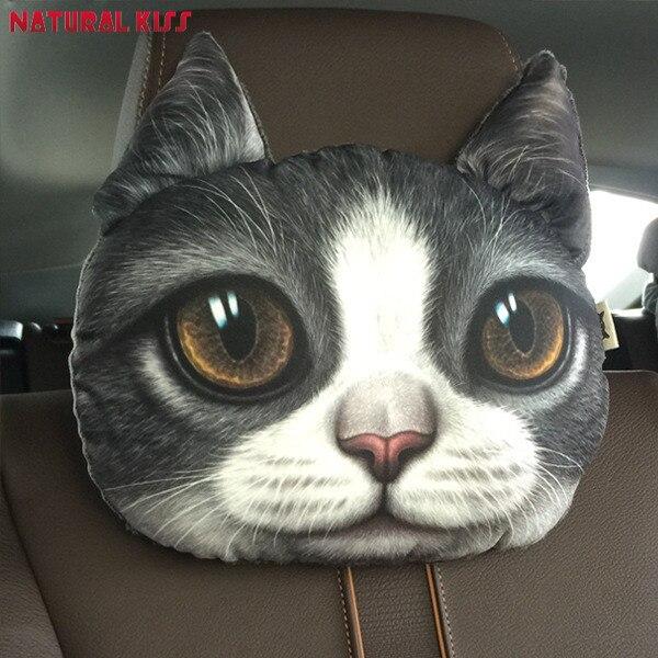3D Emoji Cartoon Decorative Pillows Home decor Cat Nap Sofa Cushions Smiley Face Pillow for Chair Car headrest Cute Seat Cushion