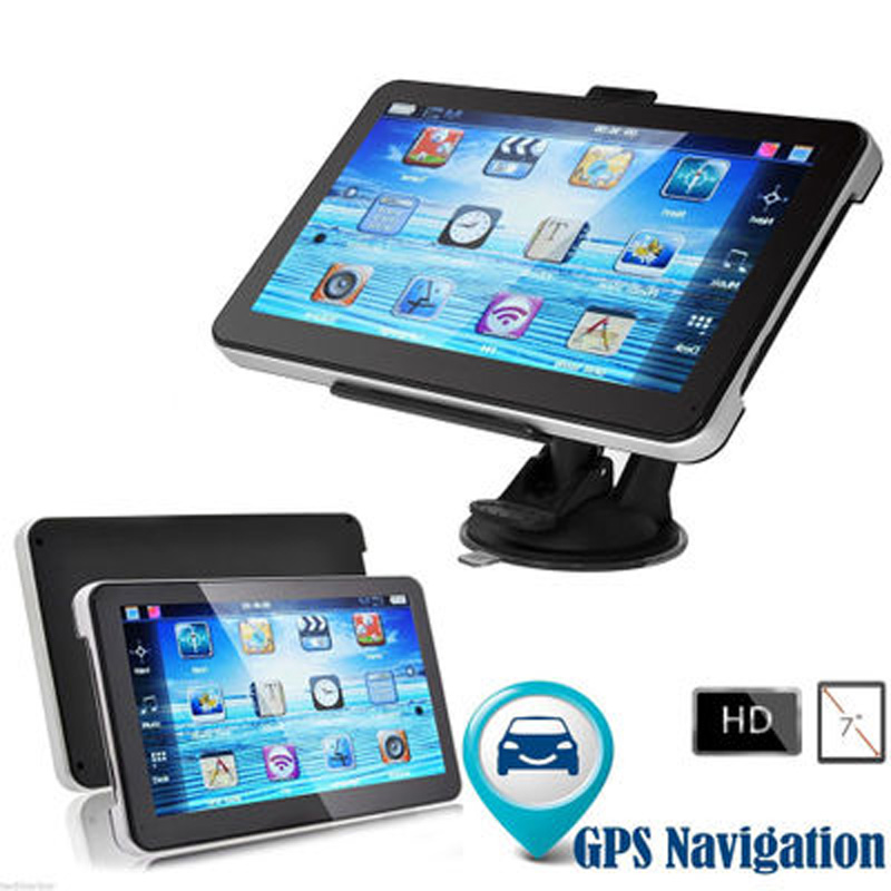 Car GPS Navigation 7 inch Bluetooth WIFI FM Russia Navitel/Europe map Truck Vehicle gps Navigator sat nav Built 8GB 5 inch hd car gps navigation 800m fm 8gb ddr128m map free upgrade car gps navigator navitel europe sat nav truck gps automobile