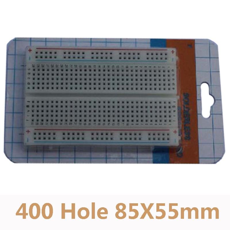 400 Tie Points Holes Universal Solderless PCB Breadboard Mini Protoboard DIY Bread Board Test Circuit Board
