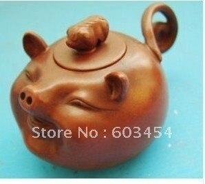 Wonderful rare Purple Clay YIXING Chinese Pottery Teapot Tea Pot/ Free Shiping 1Pcs
