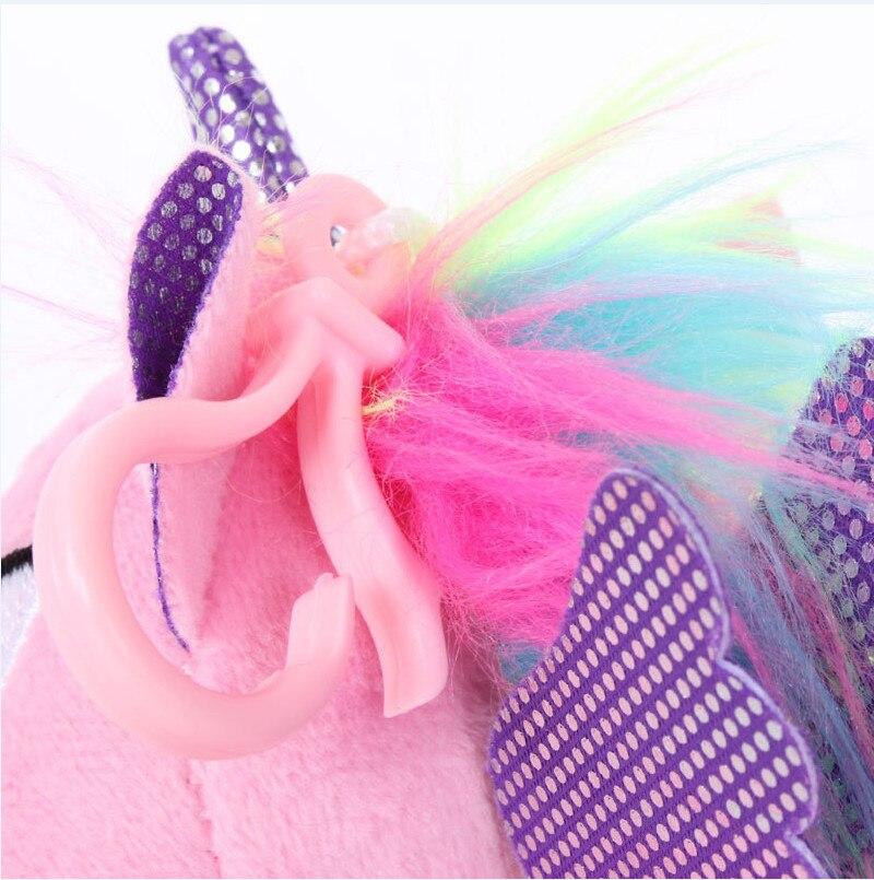 Plush Animal Unicorn Horse Stuffed Animals Toys Baby Infant Girls Toys Birthday Gift Rainbow licorne11