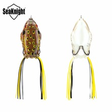 SeaKnight SK401 Topwater Frogs 21g 65mm / 13.5g 55mm 1PC Floating Fishing Lure Soft Baits Blackfish Fishing Baits Fishing Tackle