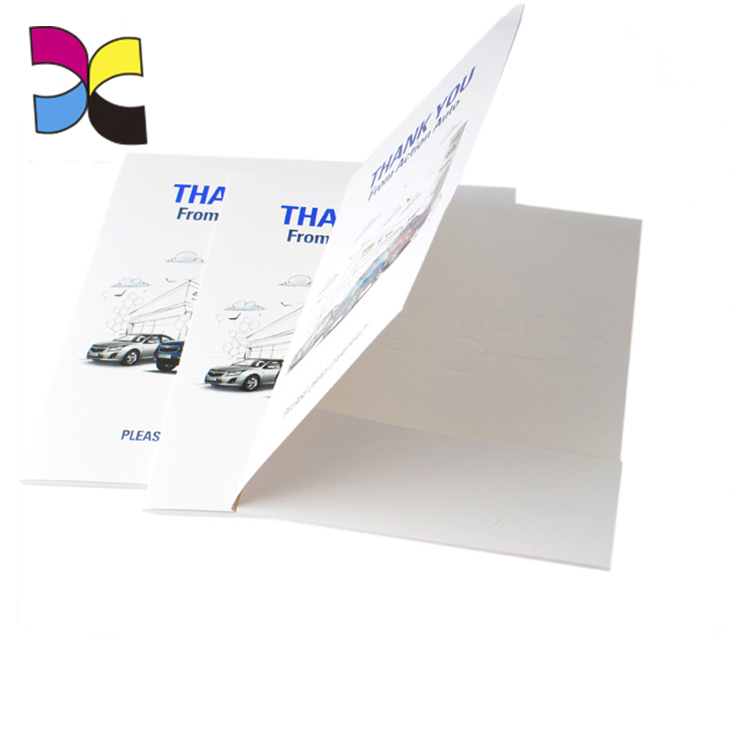 Business Custom Own Logo Promotional Office Student Use Paper Presentation Folder Paper A4 Size Folder