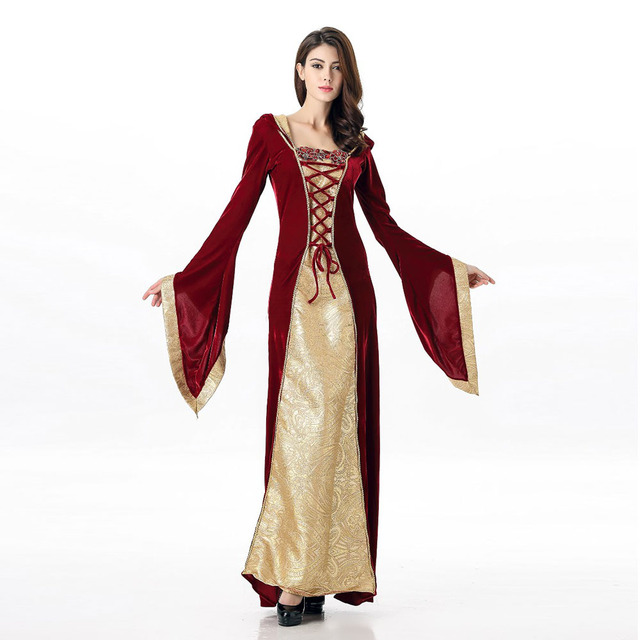 VASHEJIANG Sexy Medieval Costume Cosplay Dress Adult Fantasia Princess Costume Halloween Carnival Costumes for Women Girls  sc 1 st  AliExpress.com : princess costumes halloween  - Germanpascual.Com