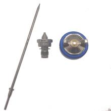 цена на Spray Gun W101 Hand Manual Spray Gun Nozzle 1.0/1.3/1.5/1.8mm Paint Spray Gun Nozzle Kit Set