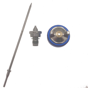 Image 1 - WENXING Spray Gun W101 Hand Manuelle Spritzpistole Düse 1.0/1.3/1.5/1,8mm Farbe Spray Gun düse Kit Set
