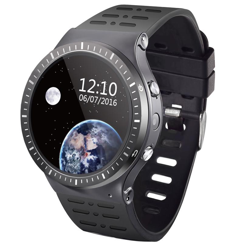 Prix pour Smart Watch Téléphone S99B Soutien Android 5.1 MTK6580M 1.3G Quad-cores 8 GB Mémoire SIM Carte Wifi Bluetooth GPS Smartwatch PK KW88