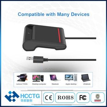 CCID ISO 7816 USB 2.0 Smart Card Reader IC Chip Card Reader DCR30