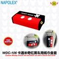 Acessórios carro dos desenhos animados Mickey mouse e preto com a tampa da caixa de tecido WDC-106