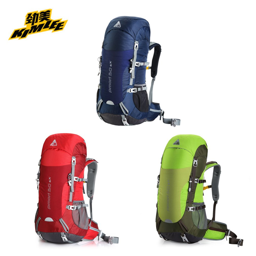 KIMLEE Professional 50L Waterproof Mountaineering Backpack Multifunctional Large Capacity Bag For Outdoor Sports Free Shipping цена и фото