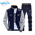Plus Size Zipper Jacket+Pant Polo Sweat Suit 2017 Sporting Men Suit Hoodies And Sweatershirts Men's Tracksuit Set Sweatshirt Men