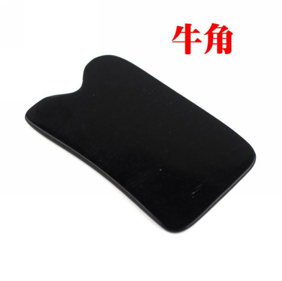 1pcs Traditional Acupuncture Massage Tool body meridian thicken Guasha board 100% Buffalo Horn/Scrapping kit free shipping new arrival 100% buffalo horn thicken high polishing beauty guasha tool 1pcs square 1pcs dolphin plate
