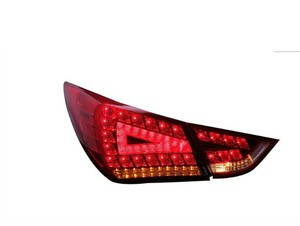 Image 4 - Elantra taillight,MD Avante,2012 ~ 2015, 자동차 액세서리, LED,Elantra rear light,Elantra 안개등, sonata,IX35 용 범퍼 램프