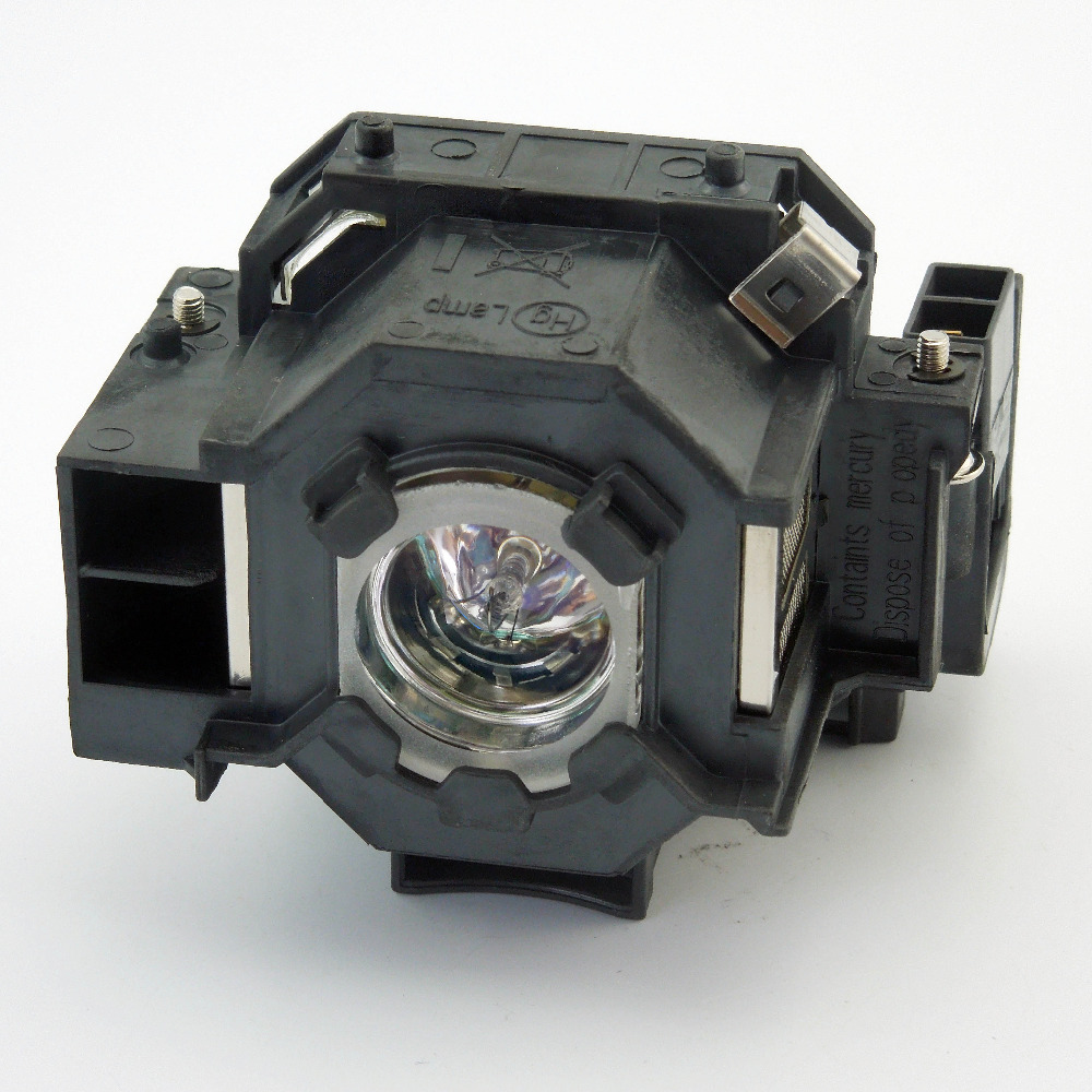 Replacement Projector Lamp ELPLP42 for EPSON EMP-400W / EB-410W / EB-140W / EMP-83H / PowerLite 822p / PowerLite 83c / EMP-400e original projector lamp elplp48 for epson eb 1725 eb 1720 eb 1730w eb 1735w eb 1700 emp 1725 emp 1735w emp 1730w emp 1720 h268a