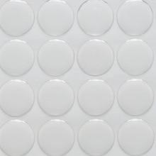 1 بوصة دائرة الايبوكسي ملصقات لاصقة ملصقات ذاتية اللصق ملصقات 3d تأثير واضح جولة الايبوكسي القبب