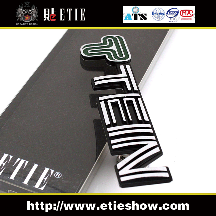 Custom Metal Brand Logo Sticker PromotionShop For Promotional - Promotional custom vinyl stickers for cars