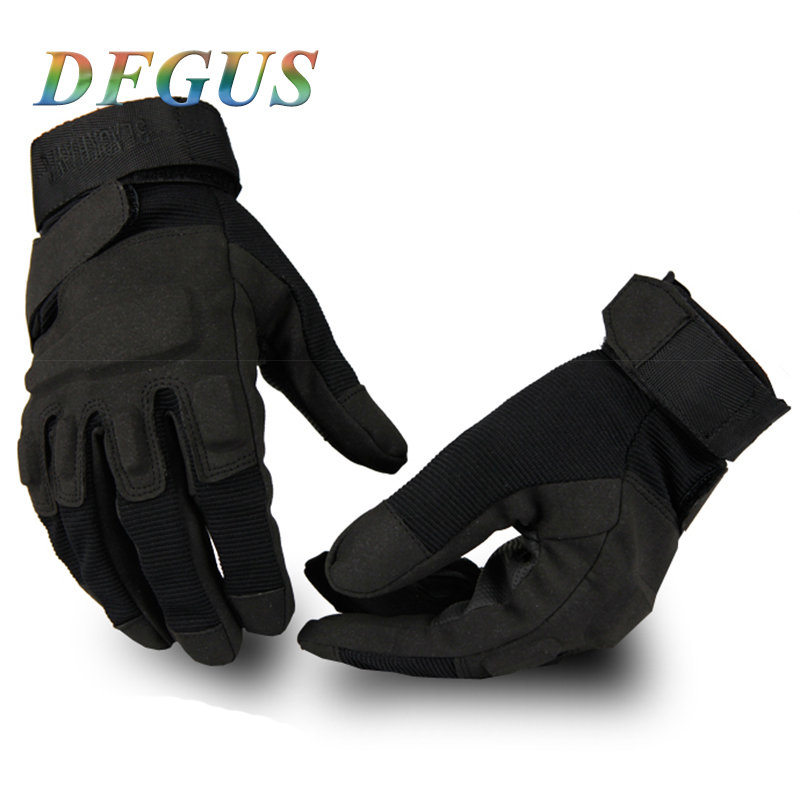 DFGUS 2019 Hell Storm Usa Special Forces Tactical Gloves Military Slip Outdoor Men Firghting Full Finger Army Gloves