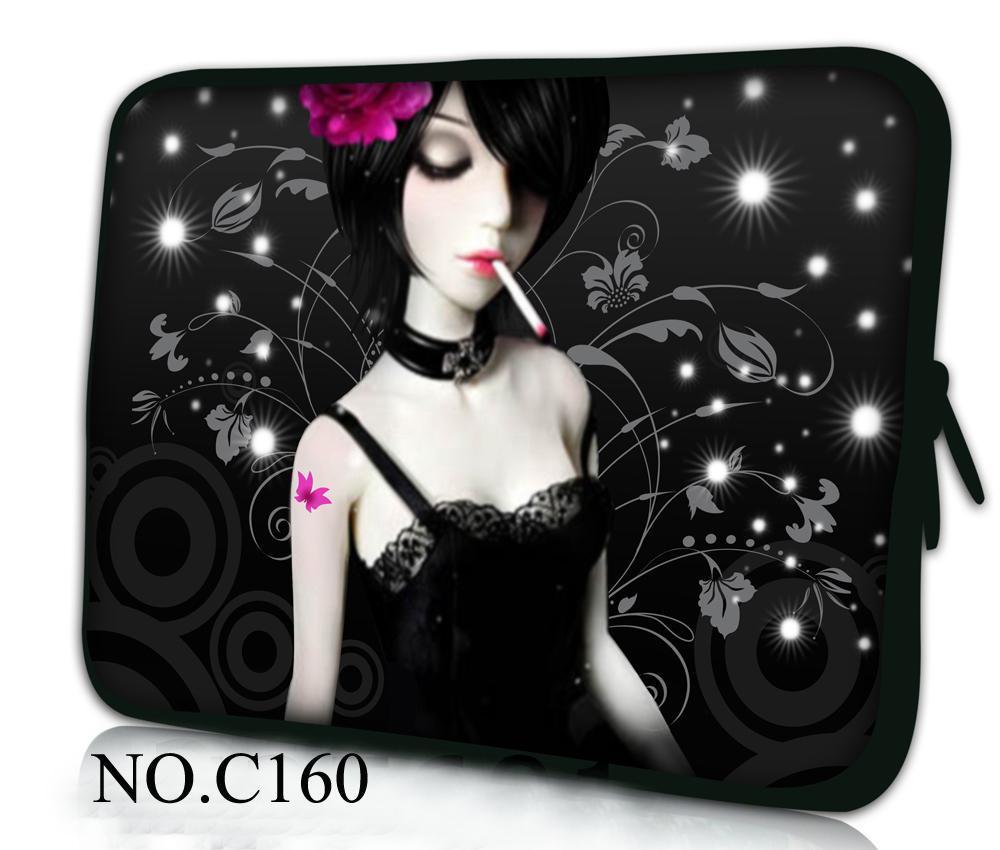 Smoking Girl laptop sleeve computer bag notebook Case For women MacBook Air /Pro Retina 10 13 13.3 15.4 15.6 17.3 Laptop Bags