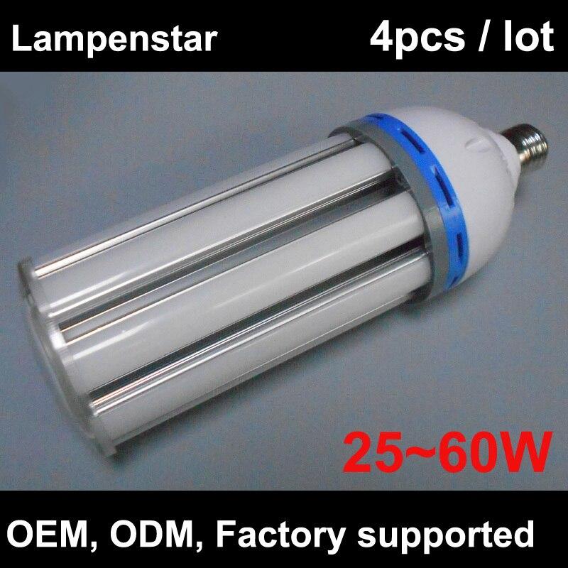 Ampoule LED e40 30 W/40 W/50 W/60 W SMD5630 lumière LED ampoule lampe blanc froid/blanc chaud Super luminosité économie d'énergie 2015 dernière