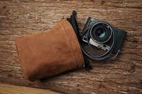 Genuine Leather Camera Protector Retro Case Soft Bag Pouch for Leica M9 M8 Fujifilm X T1 X PRO X E2 X T10 /Sony A6000 A7 A7II