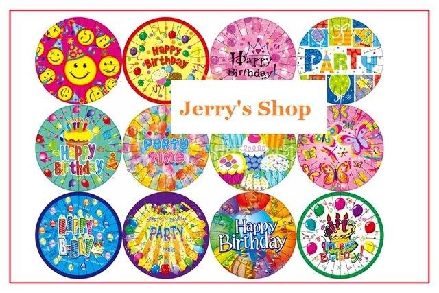 100 Stks Nieuwe Collectie 7 Inch Gelukkige Verjaardag Kind Kids
