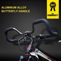 31.8mm MTB Mountain Bike Handlebar Travel Bicycle Rest Handlebar Aluminum Alloy Bicycle Handlebar Bike Accessories