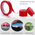 car-styling double-sided tape Acrylic Transparent no trace 3M Tape Instead of 3m tape sticker 10mm width 3 meter freeshipping