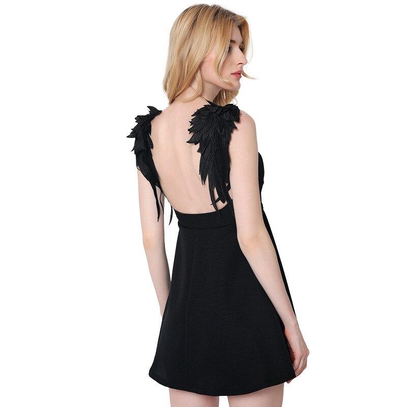 Popular Backless Little Black Dress-Buy Cheap Backless Little ...