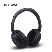 Active Noise Cancelling Bluetooth Headphones With Wireless Stereo Headset Deep Bass Headphones With Microphone For Phone