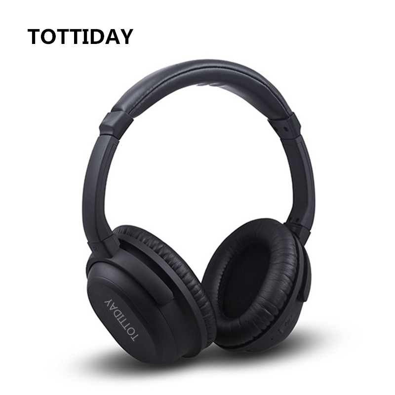 Active Noise Cancelling Bluetooth Headphones with Wireless Stereo Headset Deep bass Headphones with Microphone / for phone 2016 noise cancelling wireless sleep headphones stereo 2 4ghz bluetooth headset for listenting music answering phone eye mask