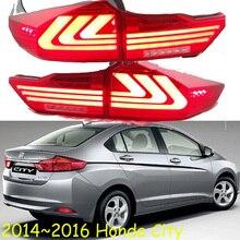 2014 ~ 2016 yıl araba tampon kuyruk ışık şehir arka lambası araba aksesuarları LED DRL için Taillamp şehir sis lambası
